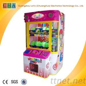 Coin Operated Game Machine Wonder Land For Sale