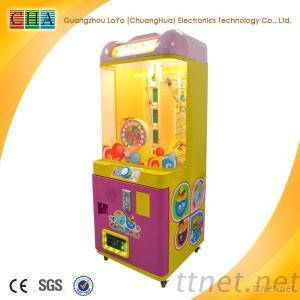 Coin Operated Game Machine Candy Dispenser For Sale