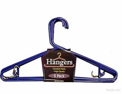 Plastic Tubular Hanger/Plastic Clothes Hanger Wholesale In Cheap Price