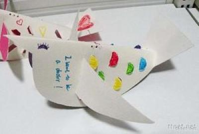 Creative Paper Folding Crafts - Birds, Butterflies, Wallizards, Insects