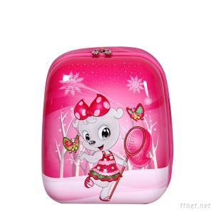 ABS And PC Pink Preschlool School Backpacks For Girls With Big Discount