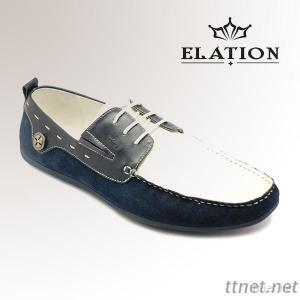 Leather Casual Boat Shoes