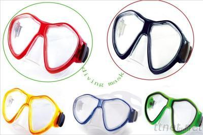 Diving Equipments Diving Mask  With Low Volume Design Full Face Mask