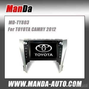 Car GPS Navigation With Mirror Link/DVR/TPMS/OBD2 for 10.1Inch Touch Screen 4.4 Android System Toyota Camry Hybrid 2012