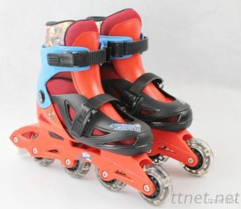 Kids Plastic Inline Skate With CE Approvals
