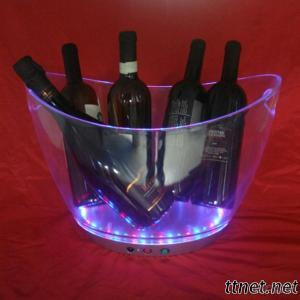Led Plastic Ice Bucket