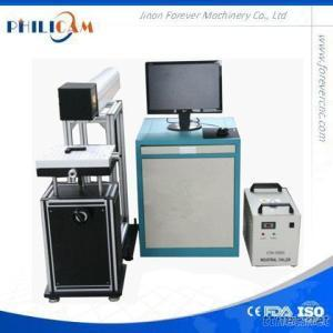 50W Non-Metal CO2 Laser Marking Machine With Glass Tube 100*100Mm/200*200Mm