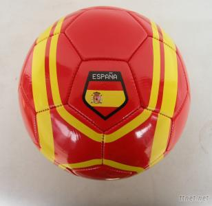 PVC Leather Machine-Sewn Promotion Soccerball Size 5