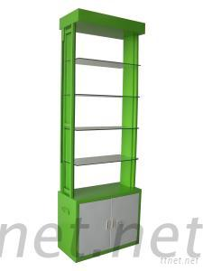 Wooden Green Display Stand