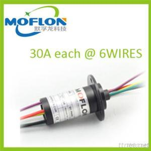 30A*6Wires Large Current Slip Ring