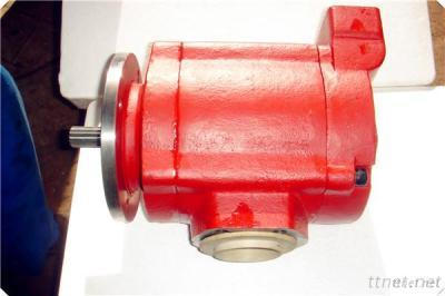 Pneumatic Air Motor Providing Power For Pump, Winch