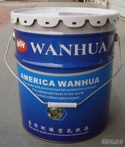 20L Tin Bucket With Lid, Paint Bucket