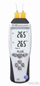 Two/Four-Channel Thermocouple Thermometer ET-959