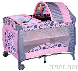 Baby Playpen, Baby Furniture H17-2 With Canopy