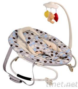 New Design Baby Rocker With Toys/Fleece Surface Baby Rocker/Baby Rocking Chair