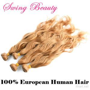 100% European Remy Human Hair Weaving