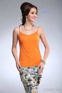 Ladies Mesh Fashion Sexy Lace Camisole