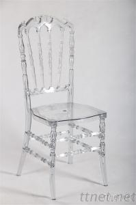 Clear Resin Royal Chair