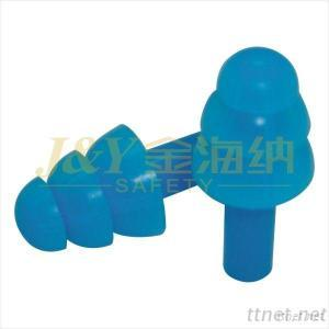 safety soundproof silicone earplugs neck string hearing protection food grade safety earplug best selling in America