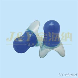 workplace safety supplies pure silicone earplugs durable flexible long-life span soundproof earplug