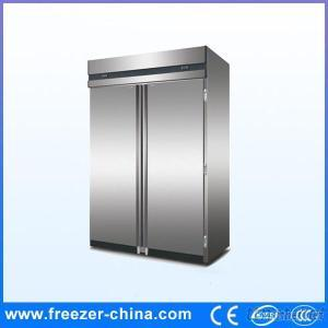 Two Door Big Size Kitchen Stainless Freezer