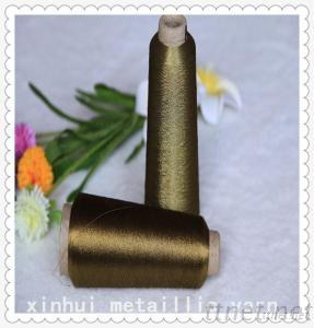 St Type Polyester Metallic Yarn For Embroidery