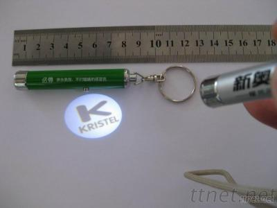 Metal Projector Keychains