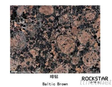 Cheap China Baltic Brown- Polished/Flamed/Bush Hammered Granite