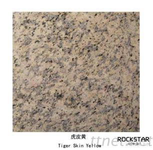 Cheap China Tiger Skin Yellow- Polished/Flamed/Bush Hammered Granite