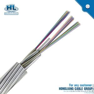 Fiber Optic Cable Single Mode 48 Core Optical Fiber Cable OPGW Cable