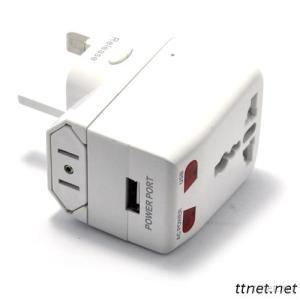 GSM Worldwide Plug Adapter BUG Sound Activation