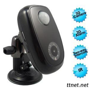 3G Remote Alarm Camera With Two-Way Video Intercom