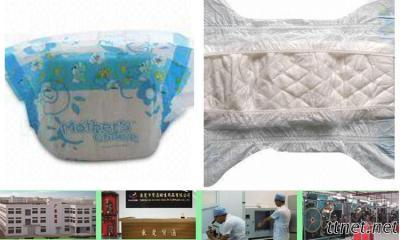 Ultra-thin Instant Absorbent Disposable Baby Diaper with Soft Nonwoven Fabric Su
