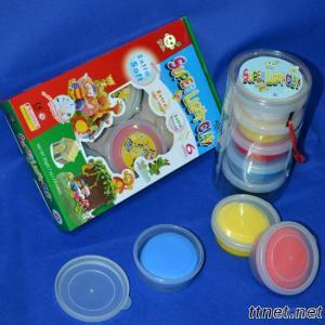 Magic Clay For Kids Handcraft Artworks
