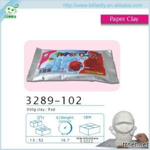 Brown Air Drying Clay for kids DIY project