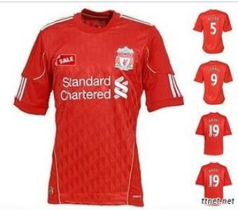 11-12 Liverpool Home Jersey
