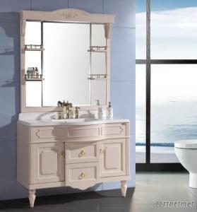 European Style PVC Bathroom Cabinet OLY066