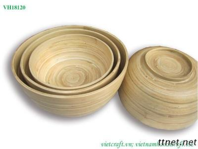 Eco-Friendly Bamboo Bowl
