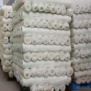 Woven 50D Polyester Chiffon Grey Fabric, 50D Polyester Fabric With Bleaching, Polyester Jacquard Fabric