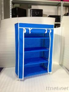 Fabric Nonwoven Cover Shoe Rack For Household (WM-2060)