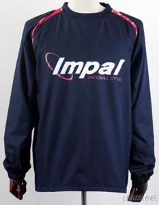Handball Long Sleeve Top With Placement Print