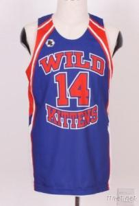 Basketball Vest With Sublimation AOP And Applique Patch