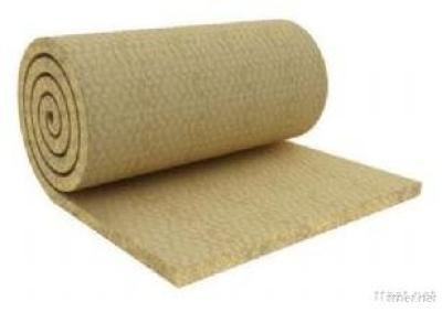 ABM  Rock Wool  Blanket With Wire Mesh