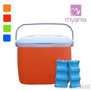 8L Hot Sell PU Insulated Plastic Cooler Box