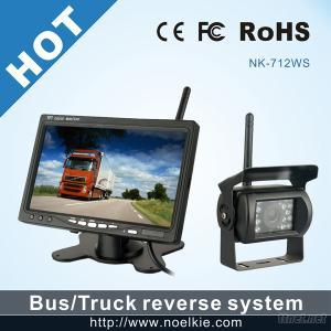 7 Inch 2.4G Wireless Car Camera Car Monitor Rearview System