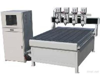 Zhongke Four Spindles CNC Router