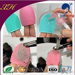 2015 New Product Silicone Makeup Brushes Cleaner