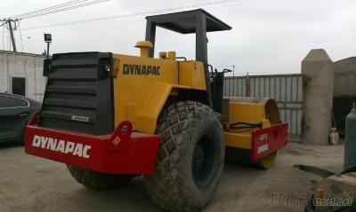Used Dyanpac road roller CA25D
