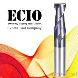 Two Flutes End Mill-Standard Length