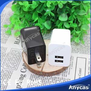 Anycas ANC-TC2 US Plug Latest Super Fast Portable 2A Travel Chargers Wall Chargers Adapters Anycas Factory Supplier